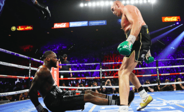Tyson Fury said he felt a draw was a loss--so he pushed the issue and stopped Wilder.