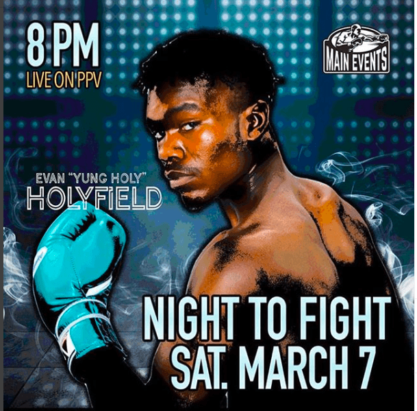 Evan Holyfield is the son of the living legend Evander Holyfield. Read about Evan on NY Fights.