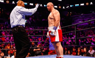 Adam Kownacki took his first loss, against Robert Helenius, on March 7, 2020, on Fox.