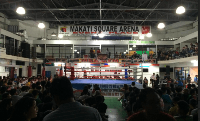 Photo caption: Wrestling fans of all ages pack venues in Manila for Philippine Wrestling Revolution events. Photo by Ryan Songalia