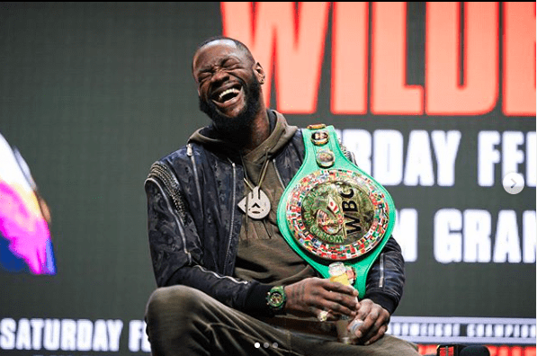 Deontay Wilder will be on the PBC podcast the week of April 12, 2020.