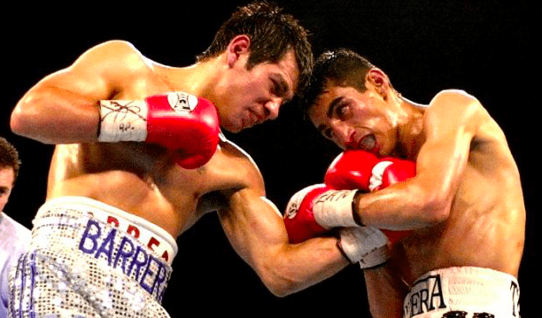 The first Barrera vs Morales fight is an all-time classic battle.