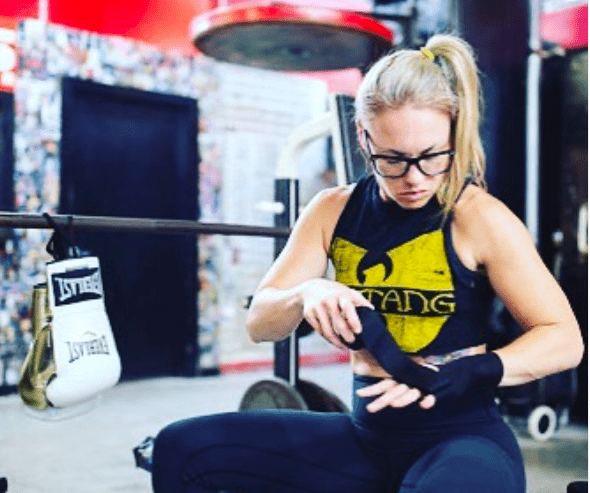 Heather Hardy represents Gleason's Gym, Everlast and Brooklyn, and is looked up to for her grit and determination to the sport of boxing.