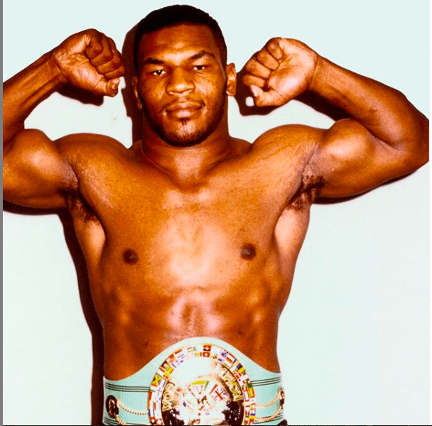 Young Mike Tyson is gone, but some of what spurred him and made him be able to fight angry, remains.