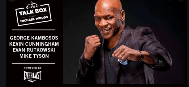 "Mike Tyson on the January 18, 2019 edition of Everlast ""Talkbox."""