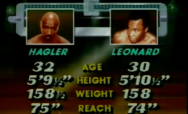Who won, Hagler or Leonard? We still debate that, to this day.