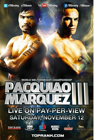 Manny Pacquiao fought Juan Manuel Marquez for the third time, and the decision was controversial.