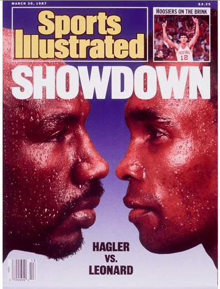 Leonard hadn't fought in almost three years, but saw that Hagler was not at his prime, and so he booked the fight.