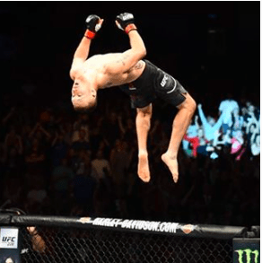 Look at that form. You wanna watch before, during and after Gaethje's outing.