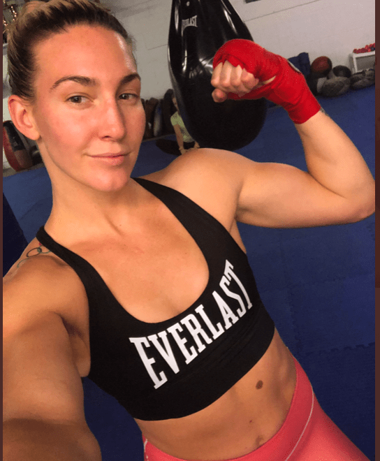 Mikaela Mayer is a 2016 US Olympian, and she represents the Everlast brand.