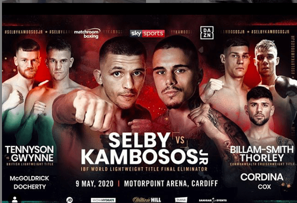 The Lee Selby vs. George Kambosos fights has been moved, again, now to October 2020.