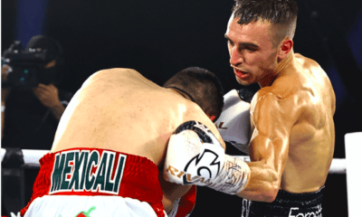 Jason Moloney went to 21-1 with a stoppage victory over Leonardo Baez June 25, 2020.