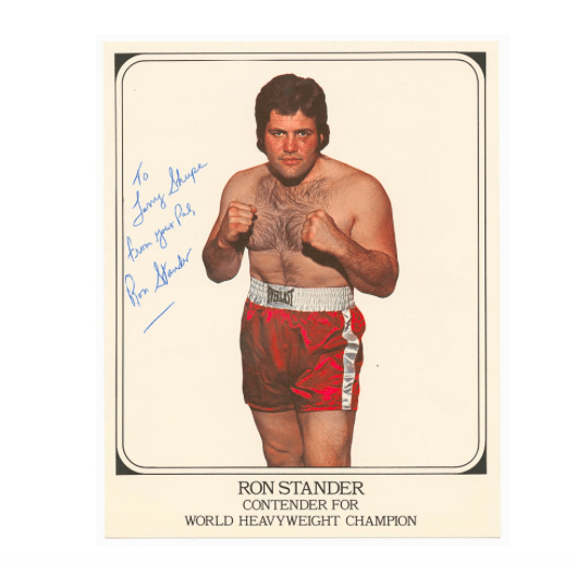 Ron Stander, a journeyman heavyweight with a durable chin.