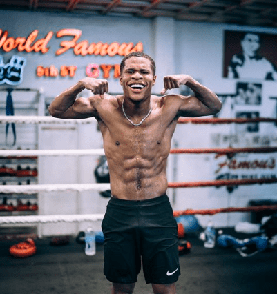 Devin Haney says he wants to fight all the big names around the 135 pound weight class.