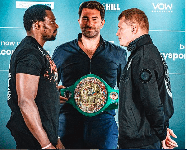 Dillian Whyte meets Alexander Povetkin Aug. 22, 2021 in England.