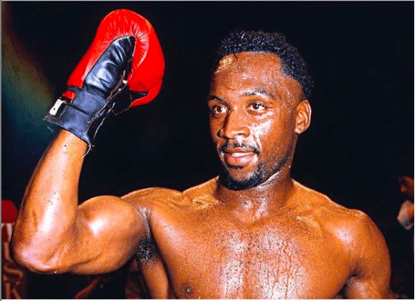 Nigel Benn retired in 1996 and wanted to fight again in 2019. But he hurt his shoulder and cancelled the idea.