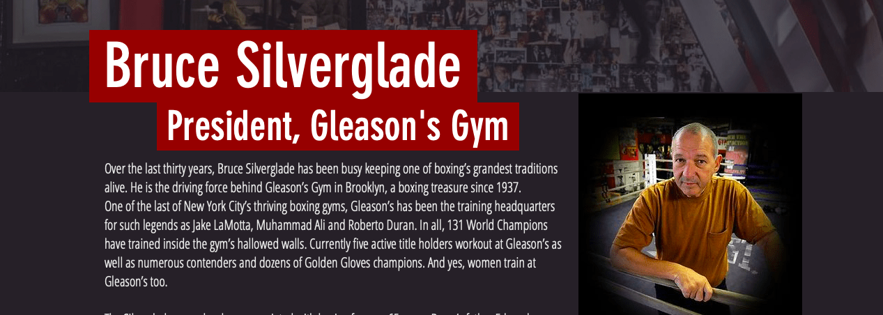 Bruce Silverglade re-opened the doors of Gleason's Gym on Sept. 2, 2020, and business is coming back, steadily.