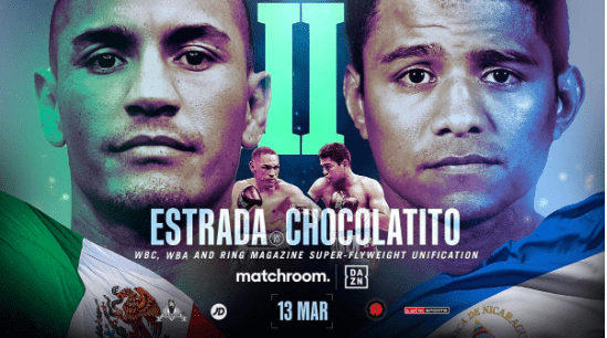 Chocolatito To Fight Estrada 8 Years After First Battle On March 13 2021 Ny Fights