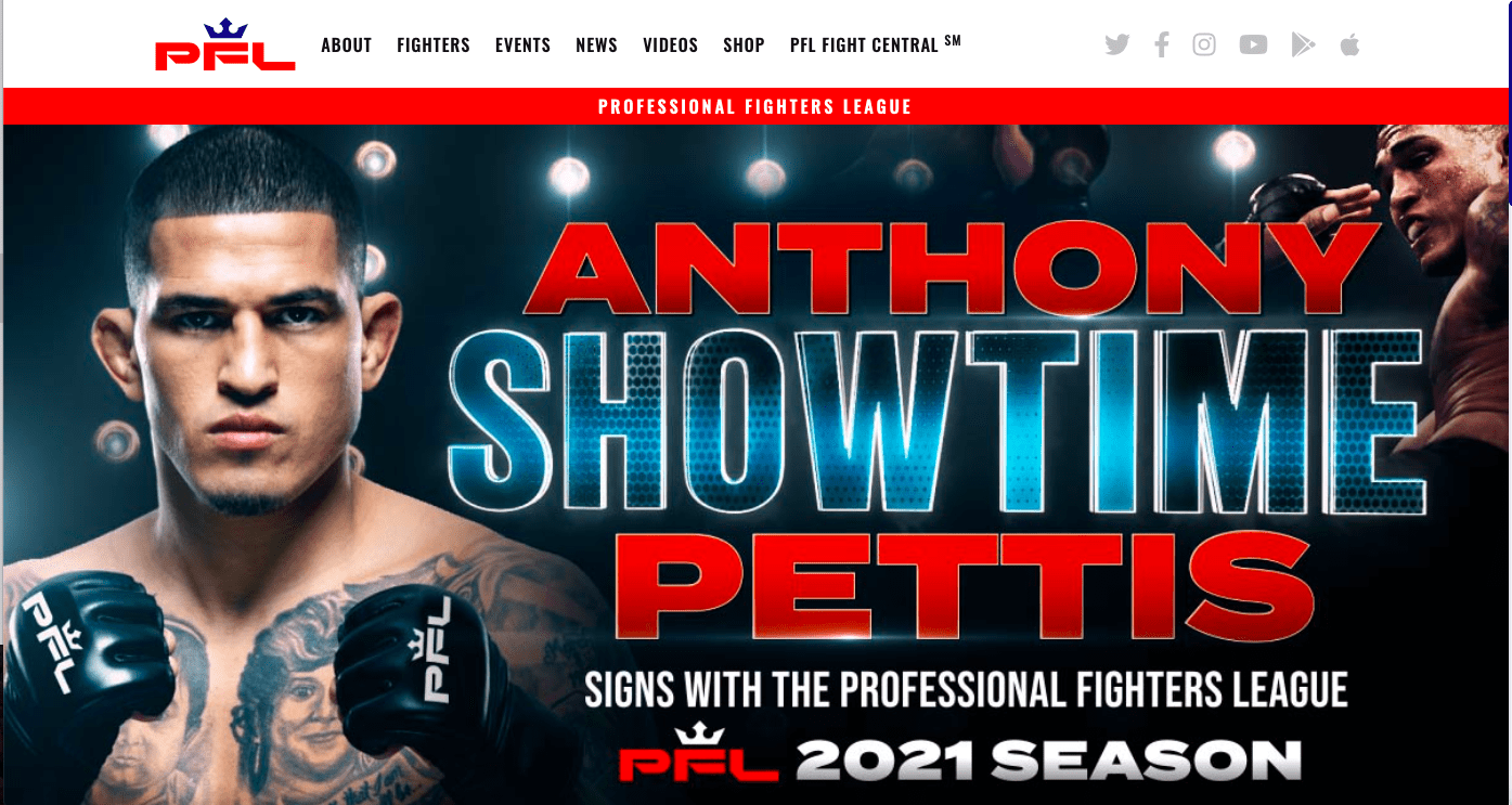 Anthony Pettis will fight under the PFL banner, after a lengthy stint with UFC.