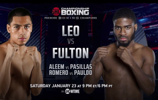 Angelo Leo puts his 122 pound crown up for grabs versus Stephen Fulton on Saturday, January 23.