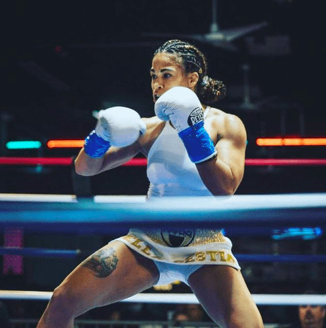 Melissa Odessa is a 3-0 featherweight boxer from Brooklyn.