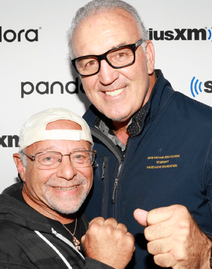 Randy Gordon and Gerry Cooney have a show on SiriusXM Radio.