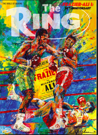"""Ali-Frazier I took place on March 8, 1971 and was billed as """"The Fight of the Century.."""""""