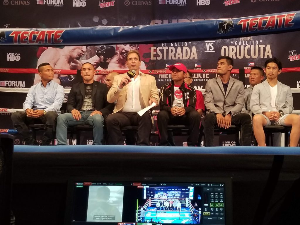Chocolatito really never lets a fighter get under his skin.