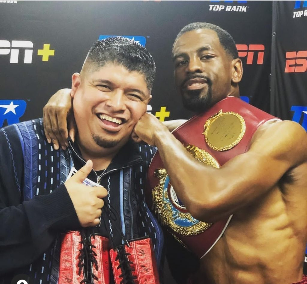 Jamel Herring is working to build a boxing management company.