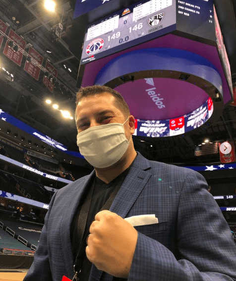Mark Fratto started Fightnight Live and is also the voice of the NBA Washington Wizards at their arena.