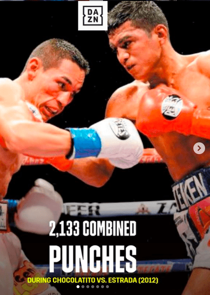 Estrada fights Chocolatito in 2012, will the Mexican make a savvy adjustment for this match?