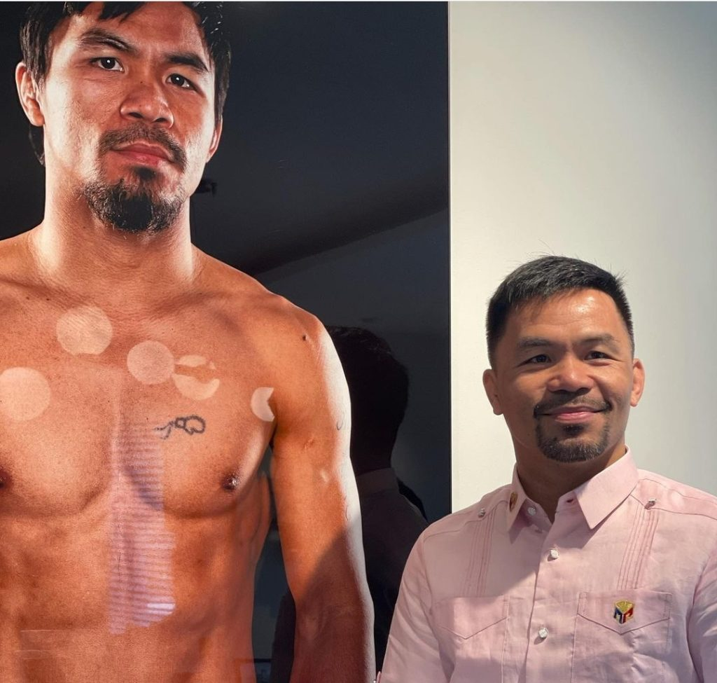 Manny Pacquiao should fairly soon be announcing his plans for his next bout.