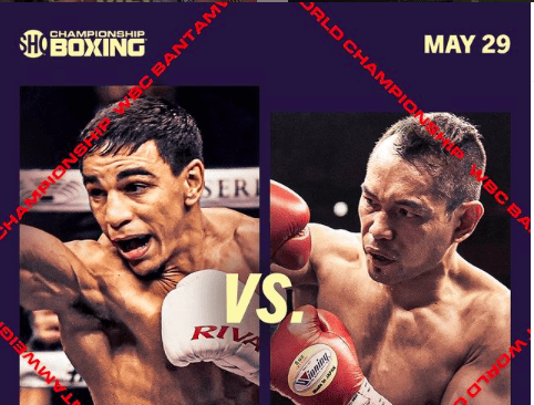 Nordine Oubaali meets Nonito Donaire on May 29, 2021.