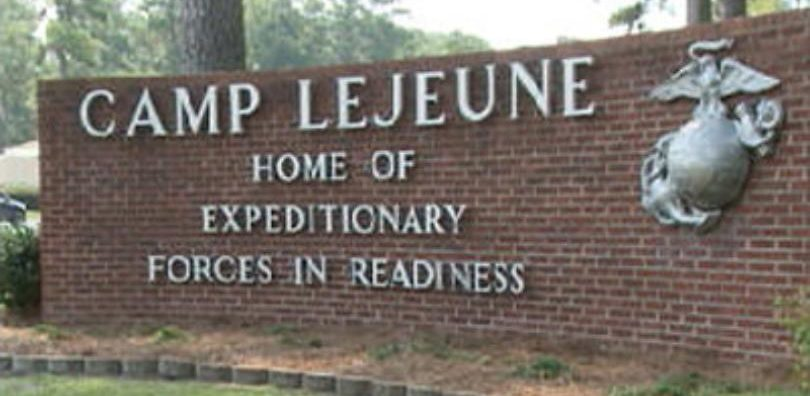 Camp Lejeune is a famous military base, in NC.