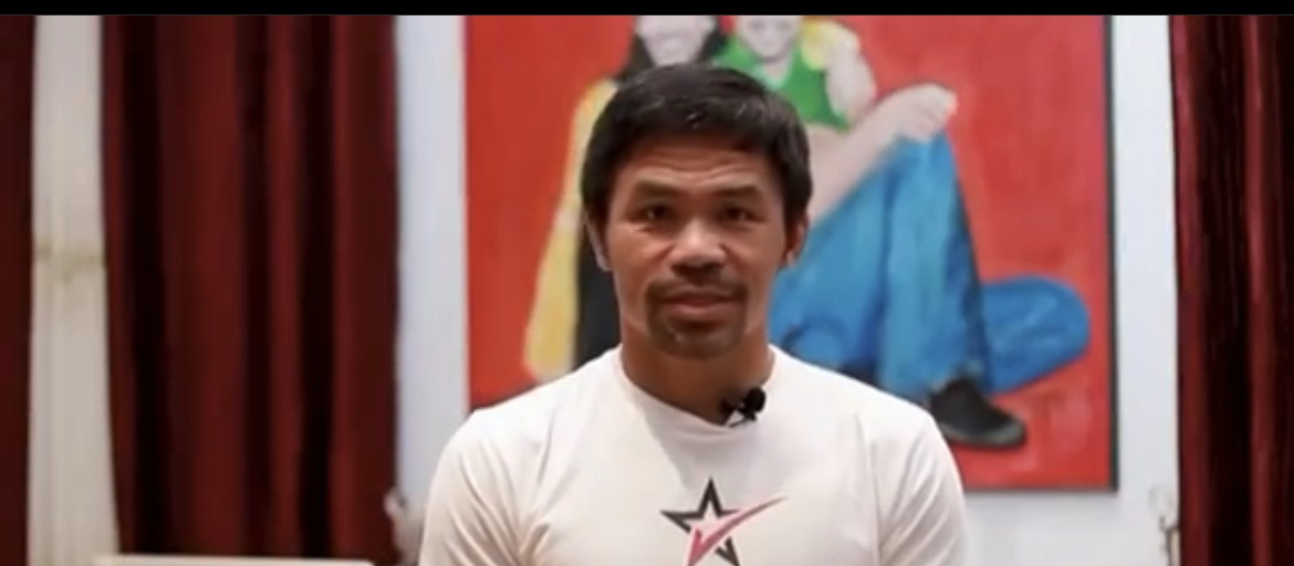 Manny Pacquiao is fighting fine at 42.