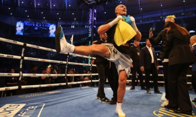 Oleksander Usyk isn't dancing around his opportunity to unify the heavyweight division. Photo: Mark Robinson, Matchroom Boxing. heavyweight division